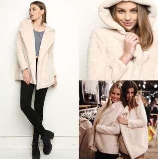 Brandy Melville Sandra Fur Coat