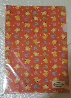 Pokemon Time Psyduck A4 Clearfile