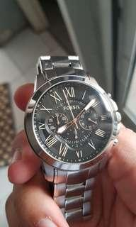 Fossil Original - Chronograph Watch Stainless strap