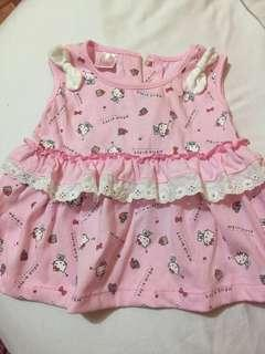 Hello Kitty Dress, 6Mos.