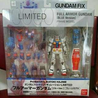 全新 Gundam Fix 全武裝高達(限定藍色版)