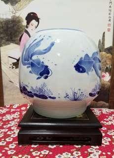 清花瓷 [花盆▪魚缸]