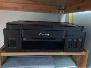 EUC CANON PIXMA G3010 (with warranty)