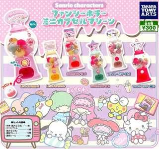 Takara Tomy Sanrio Characters 扭蛋公仔 (全6種)