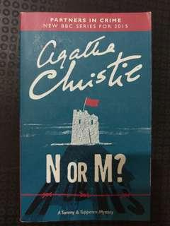 🚚 N or M? - Agatha Christie