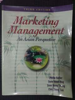 🚚 Marketing Management - An Asian Perspective