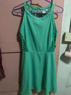 Purpur green dress