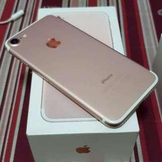iPhone 7 256GB Rosegold Openline & Complete package.