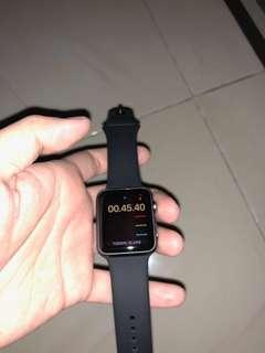 Apple Watch Series 1 Alumunium 42 mm Black Color