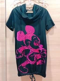 Black Mickey Dress