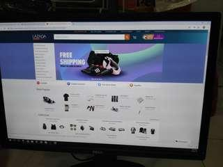 """Dell Ultrasharp 24"""" monitor"""