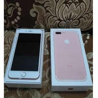 iPhone 7Plus 32GB Rosegold Openline & Complete set.