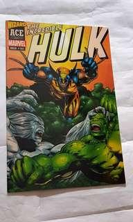 Incredible Hulk 181 Wizard ACE edition 1st wolverine