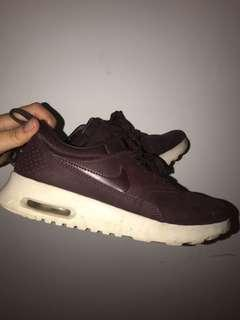 Nike Maroon Theas Shoes
