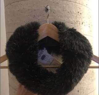 New Surell Headband & Scarf in Black