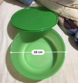 Tupperware Large Green Food Container (Salad)