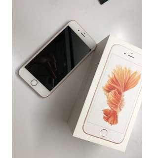 iPhone 6s 玫瑰金 64gb