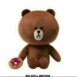 BIG DOLL BROWN LINE OFFICIAL MERCHANDISE