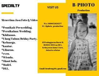 Jasa Foto & video dokumentasi