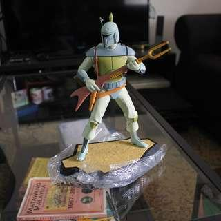 Star Wars Boba Fett Holiday Special Animated Maquette Gentle Giant