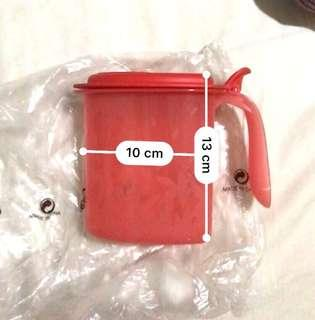 Tupperware 500ml Red Container