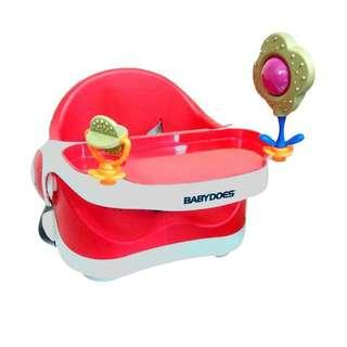 Babydoes play tray booster (feeding chair)