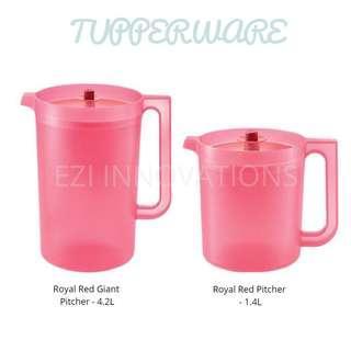 BN Tupperware 1.4L Clear Pitcher