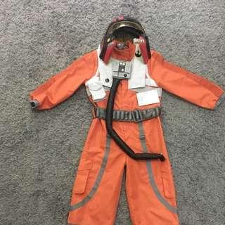 STAR WARS X-WING PILOT SUIT HALLOWEEN