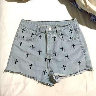 BN Denim High waist Shorts