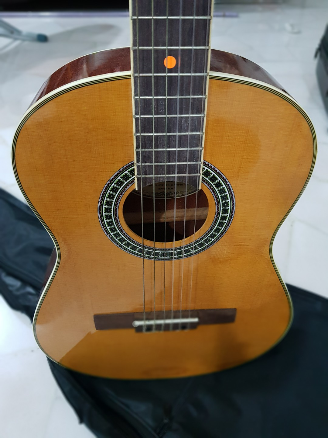 670a075142 3/4 classical guitar, Music & Media, Music Instruments on Carousell