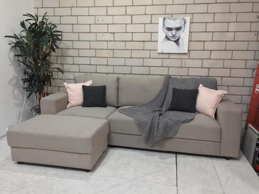 3 seater sofa with Ottoman
