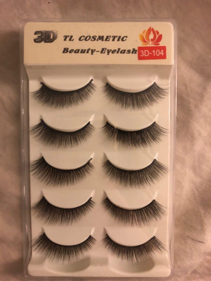 5 Pack Natural Fake Lashes Perfect for Asian Eyes!