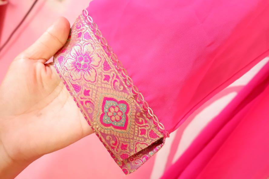 ABAYA PINK / KHIMAR / LONG DRESS