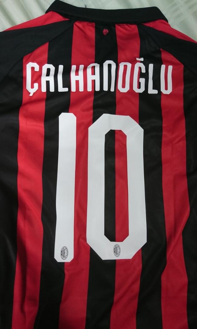 big sale e869f e1afa AC Milan Authentic Puma Jersey 2018/2019 Calhanoglu 10 ...