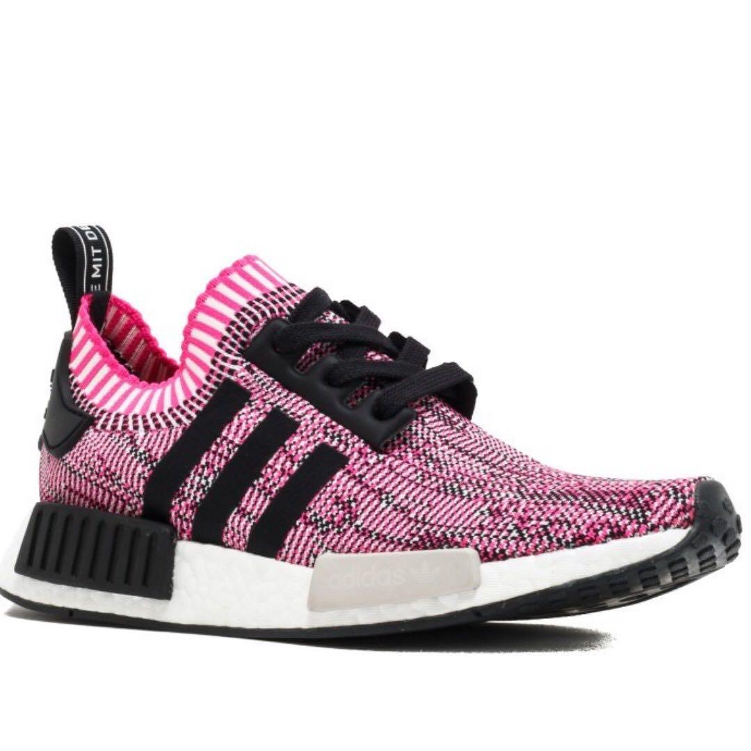 1431a390c Adidas NMD R1 Rose Pink Glitch PK