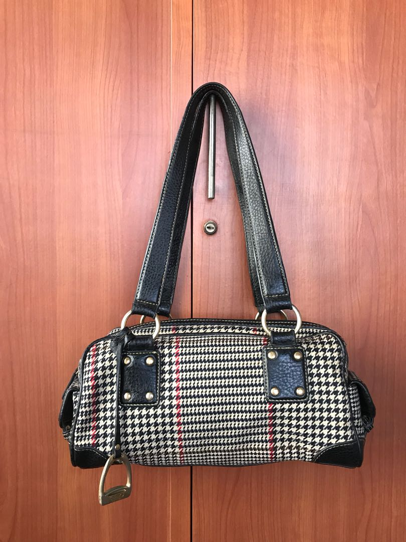 2360f92c6154 Authentic Chaps Black Bag by Ralph Lauren