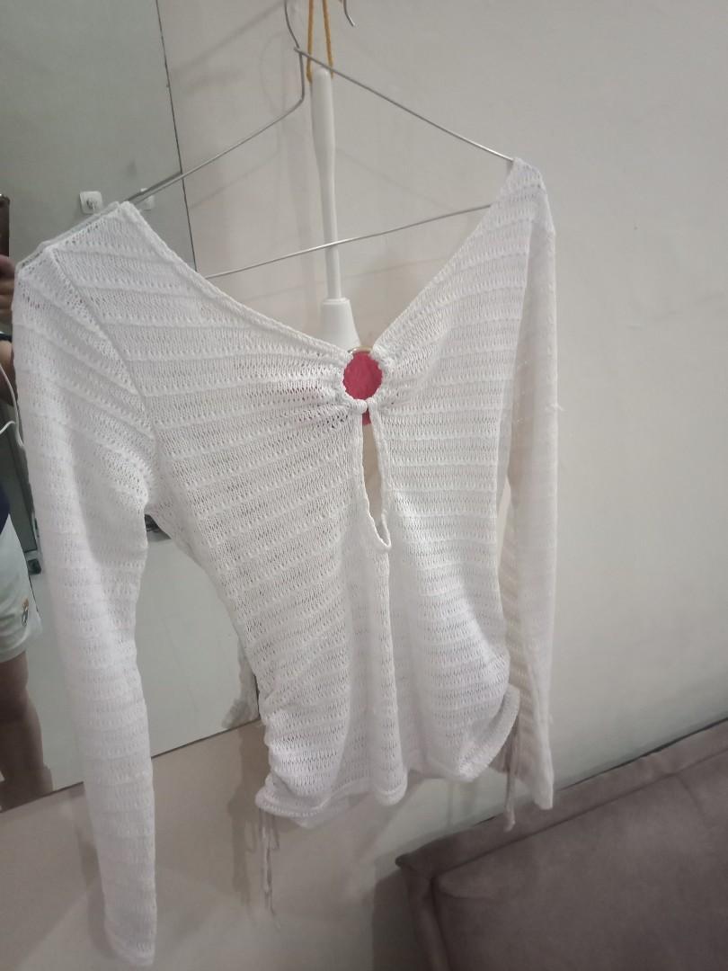 Baju rajut modis,, klo di pake keren kliatan kulit bersih dan kliatan lngsing karna ada serut dsisi kanan dan kiri bawah