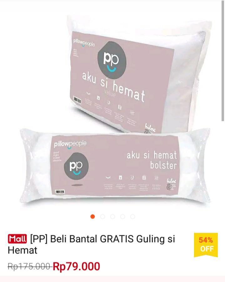 Bantal + Guling merek PP