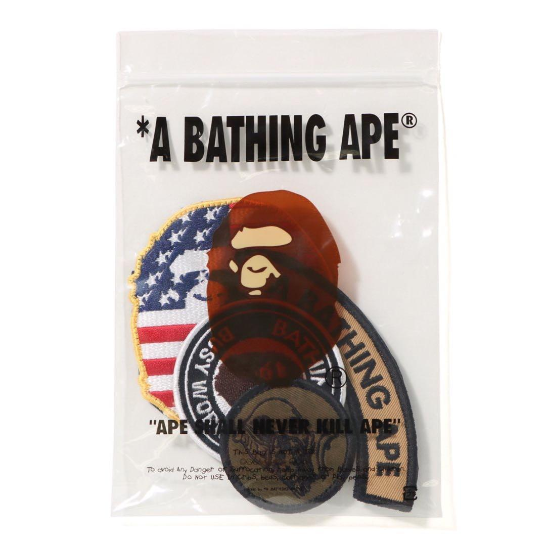BAPE VELCRO PATCH SET, Men's Fashion, Accessories, Others on