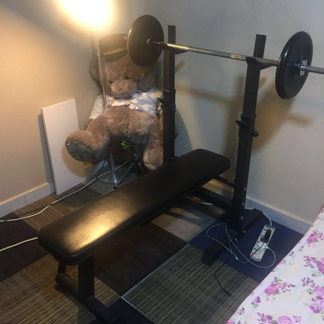 Bench Press Sports Weights Gym Equipment On Carousell