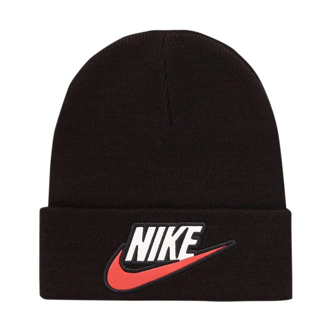 5a0099c04af IN STOCK  Supreme Nike Beanie Black
