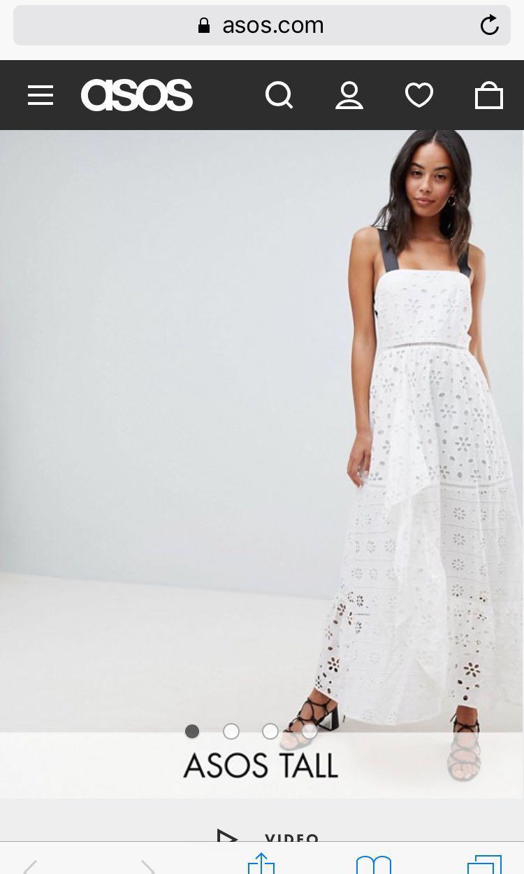 c0719de37b2e BNWT ASOS Premium Maxi Dress, Women's Fashion, Clothes, Dresses ...