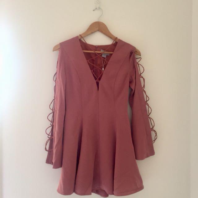 BNWT Finders Keepers Rose Mini Dress