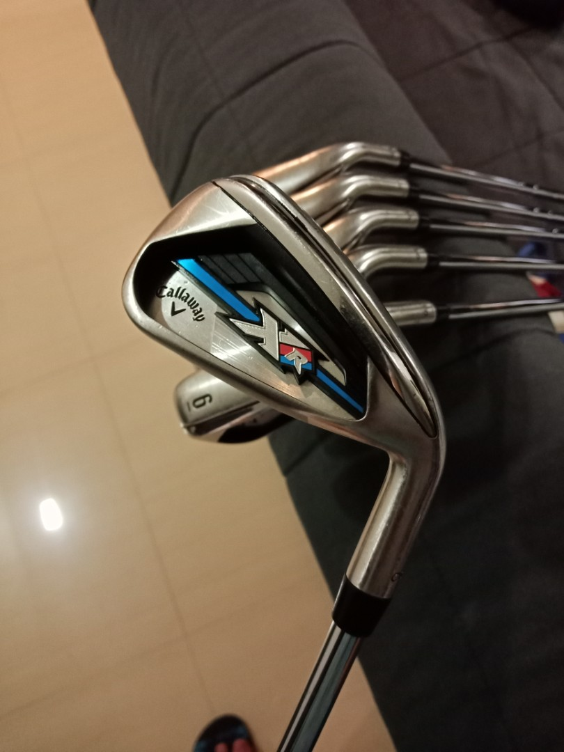 Callaway Xr Os Irons 2016 Sports Sports Games Equipment On Carousell
