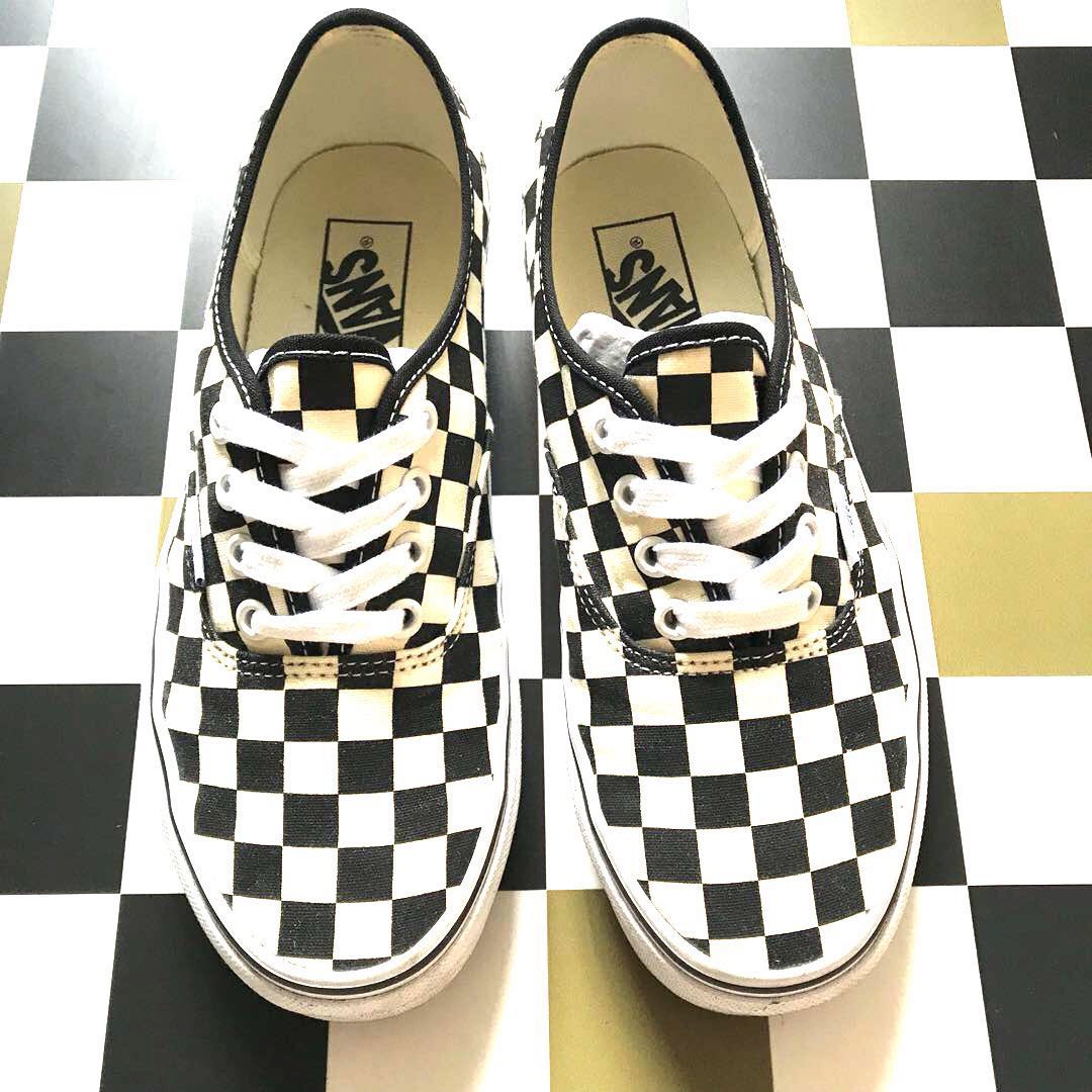 1c09f0dd7242 🔥CLEARANCE🔥 VANS Authentic Checkerboard (Golden Coast)