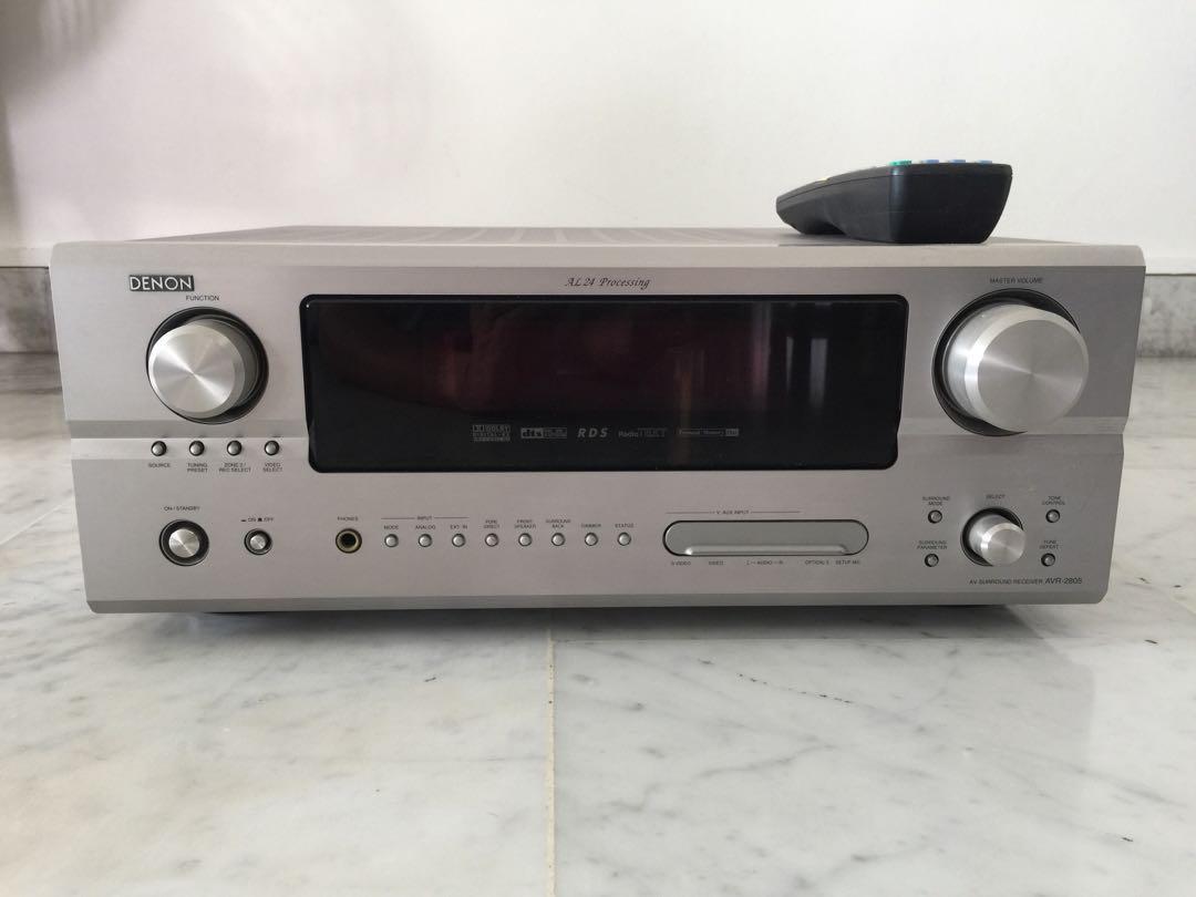 Denon AVR-2805 AV Surround Receiver, Electronics, Audio on