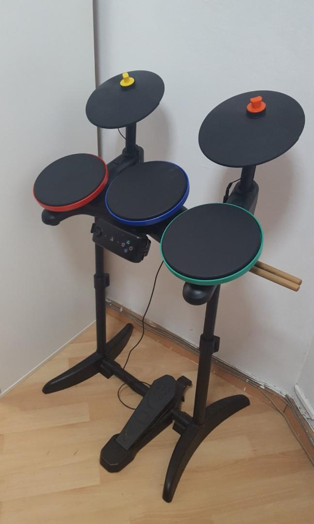 Electronic drum kit (for PS3 Guitar Hero + Rock Band