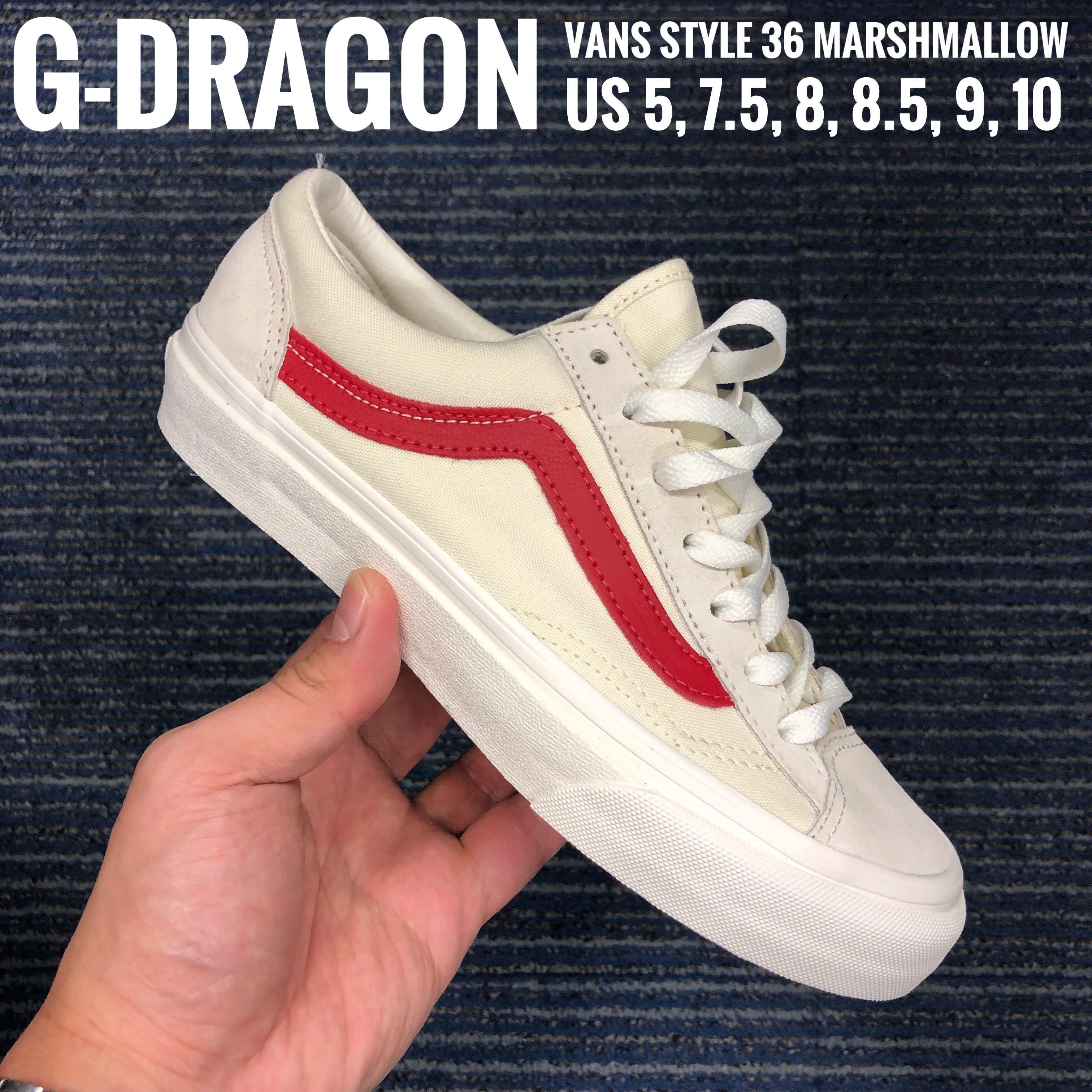 6ef6fd4c01a8dd G Dragon Vans Style 36 All Sizes