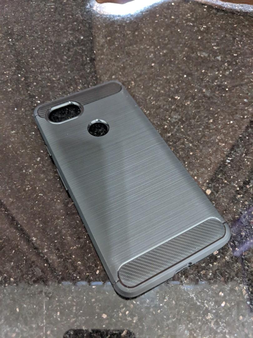 detailed look 2ff10 16a9e Google Pixel 2 XL carbon fiber case