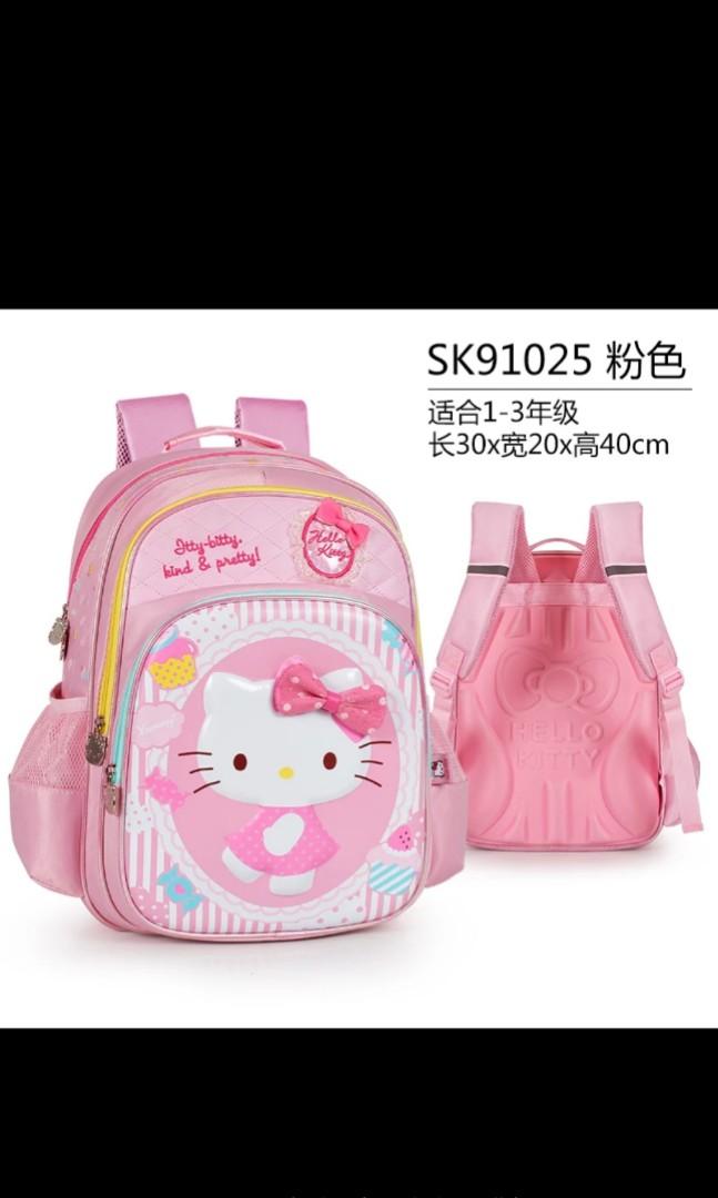 8dbf6e6c5 Hello Kitty School Bag Kids Primary schools, Babies & Kids ...